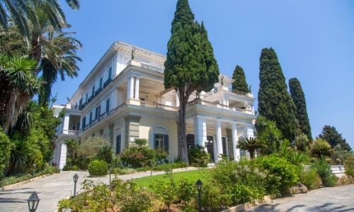 Le palace Achilleion de Corfou