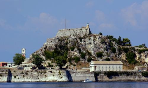 Le palais Paléo Frourio de Corfou
