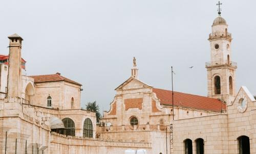 L'église de la nativité à Bethléem