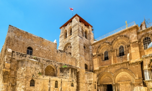 L'église du St Sépulcre à Jérusalem