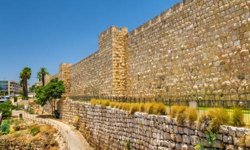 La Muraille de la vielle ville de Jérusalem