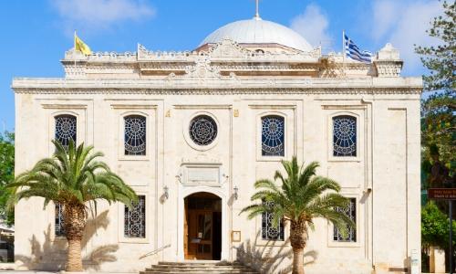 L'église Ajios Titus d'Héraklion en Crète