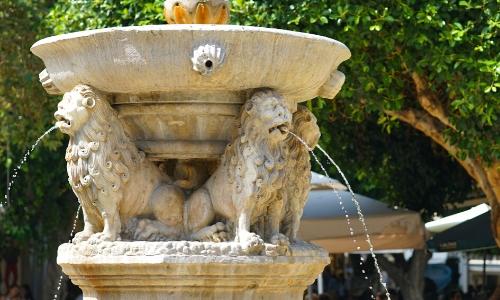 Fontaine Morosini à Héraklion en Crète
