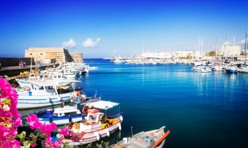 Port Vénitien d'Héraklion en crète