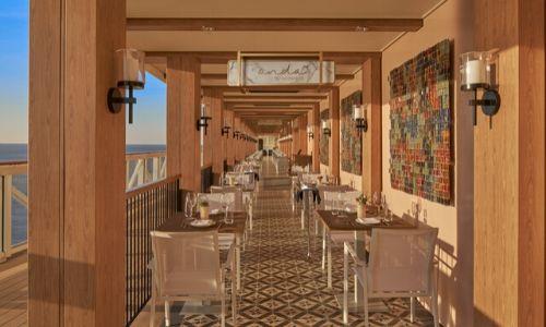 Le succulent restaurant « Onda by Scarpetta »