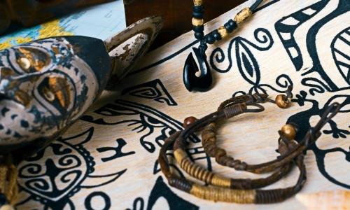 Motifs Maori, art polynésien