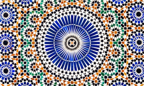 Motifs présents dans l'art marocain