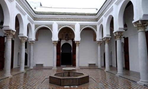 L'ancien Palais du Sultan à Kasbah