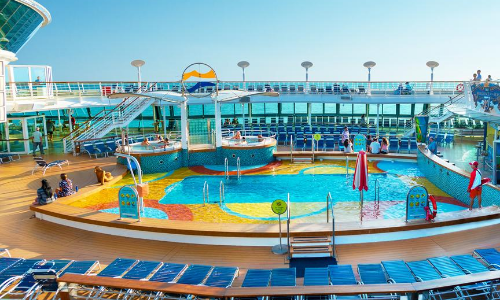 La piscine du Brillance of the Seas