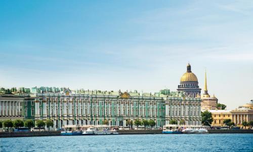 St Péterburg en Russie