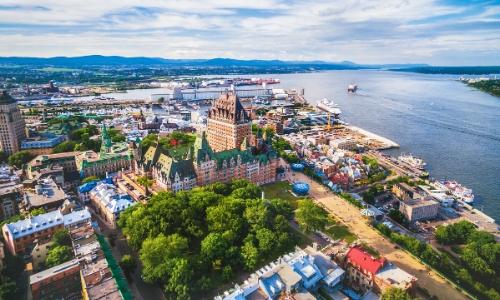 Ville de Québec et son Vieux-Port
