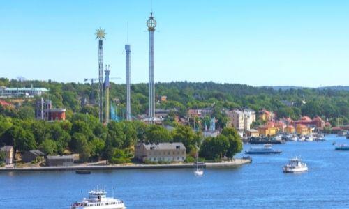 île voisine de Stockholm : Djurgarden