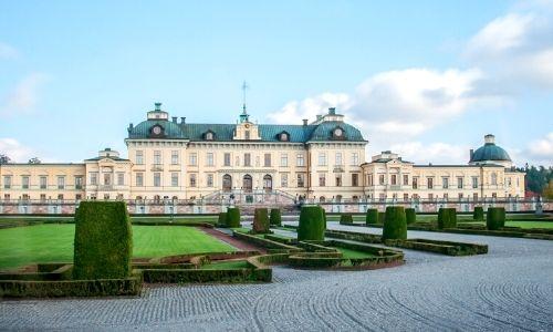 palais Drottningholm de Stockholm