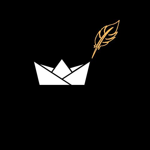 Logo bateau plume