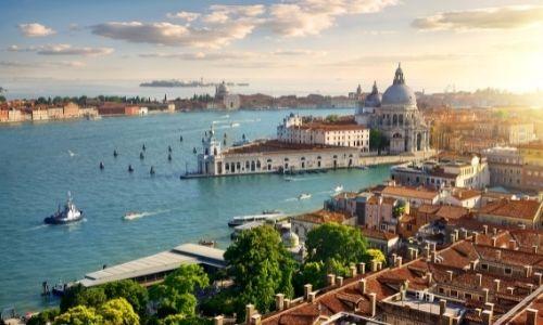 Vue panoramique de la ville de Venise