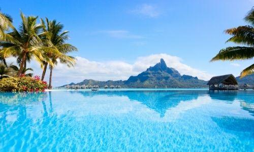 Le panorama paradisiaque de Bora Bora