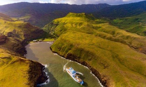L'une des baie de l'île de Ua Huka