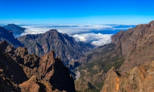 Le parc national de la Caldera de Taburiente à La Palma