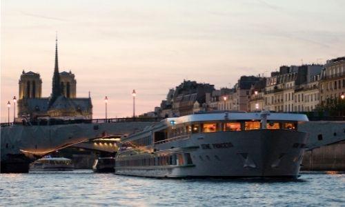 Le MS Seine Princess à Paris
