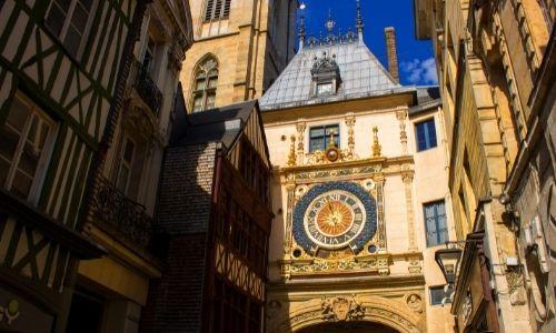Le Gros Horloge du beffroi à Rouen