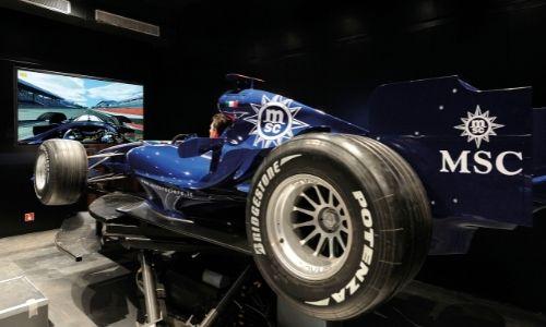 Simulateur de F1 MSC