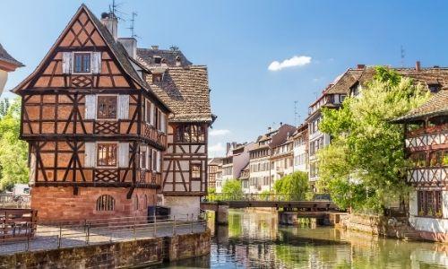 Le quartier des tanneurs de Strasbourg et ses maisons à colombage