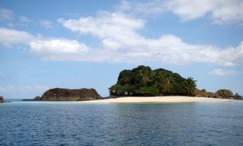 L'île paradisiade de Granito de Oro au Panama