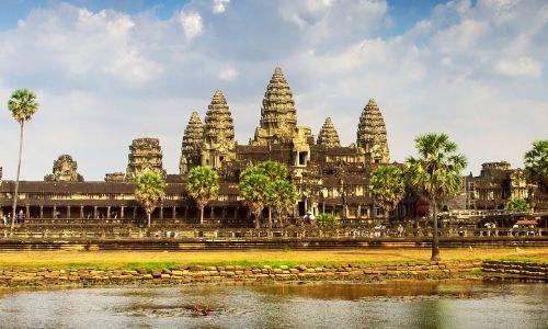 Le temple d'Angkor Vat au Cambodge