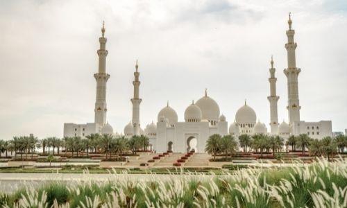 La belle mosquée de Cheikh Zayed