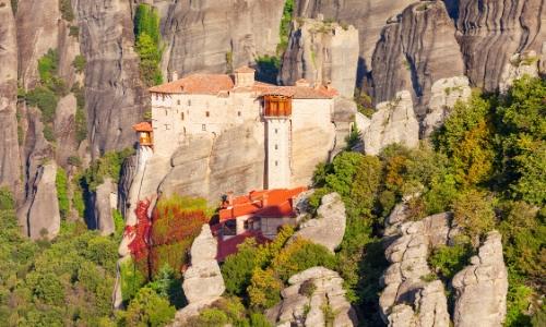 Monastère du grand météore en Grèce