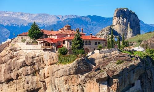 Monastère d'Agia Trias en Grèce