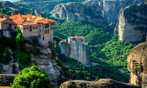 Monastère de Varlaam en Grèce