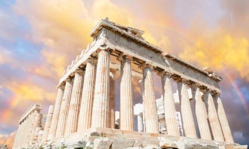Parthénon à Athènes, Grèce