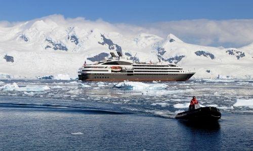 L'antarctique avec Ponant, excursion en zodiac