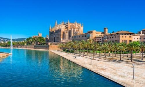 La cathédrale de Palma de Mallorca à Majorque