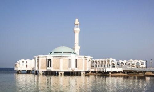 La mosqué flottante d'Al Rahma à Djeddah