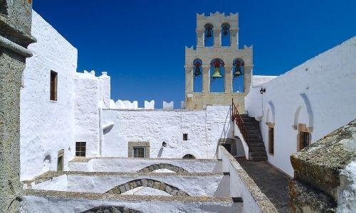 Monastère de saint Jean le Théologien à Patmos